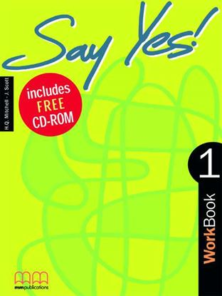Εικόνα της SAY YES 1 Workbook (with CD)