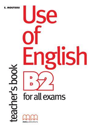 Εικόνα της USE OF ENGLISH B2 Teacher's Book