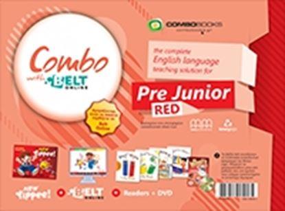 Εικόνα της COMBO WITH BELT Online PRE-JUNIOR (RED)