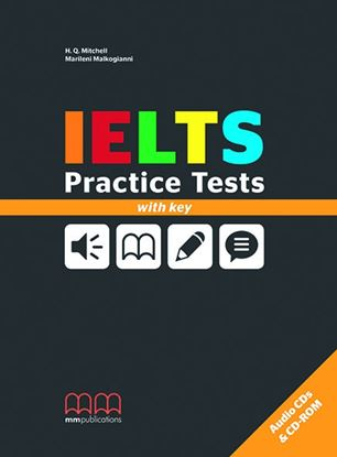 Εικόνα της IELTS PRACTICE TESTS ΒΟΟΚ WITH ΚΕΥ (CD)