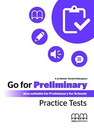 Εικόνα της GO FOR PRELIMINARY Practice Tests Student's Book (CD)