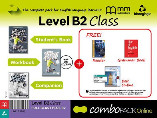 Εικόνα από COMBO WITH BELT Online B2 EXAMS FULL BLAST PLUS B2