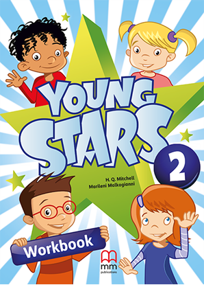 Εικόνα της YOUNG STARS 2 Workbook (with student's CD-ROM)