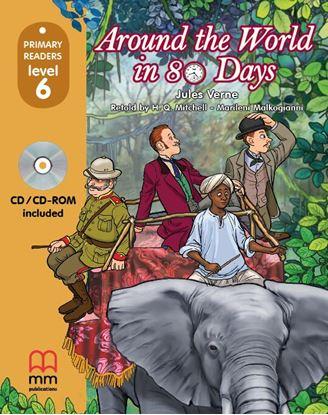 Εικόνα της AROUND THE WORLD IN EIGHTY DAYS Student's Book (with CD)