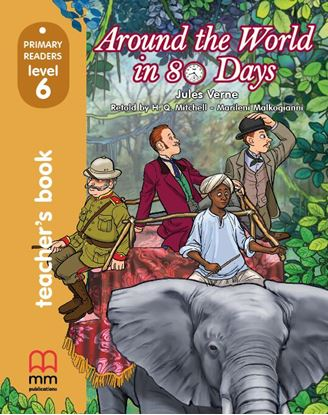 Εικόνα της AROUND THE WORLD IN EIGHTY DAYS Teacher's Book (with CD)