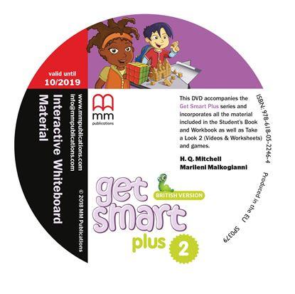 Εικόνα της DVD GET SMART PLUS 2 Interactive Whiteboard Material PACK