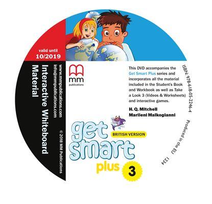 Εικόνα της DVD GET SMART PLUS 3 Interactive Whiteboard Material PACK