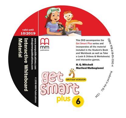 Εικόνα της DVD GET SMART PLUS 6 Interactive Whiteboard Material PACK