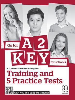 Εικόνα της GO FOR A2 KEY (FOR SCHOOLS) WITH KEY & SUPPORT MATERIAL