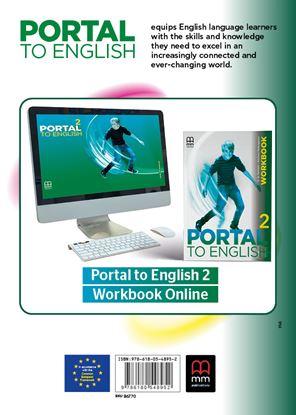 Εικόνα της PORTAL TO ENGLISH 2 Workbook with online code