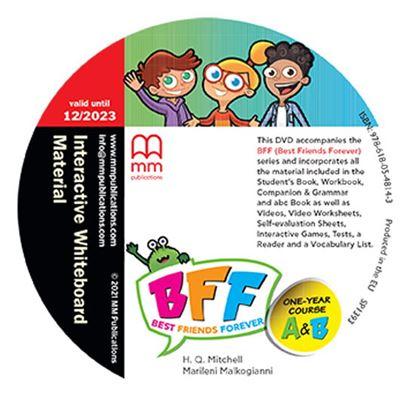 Εικόνα της DVD Interactive Whiteboard Material BFF A' & B'