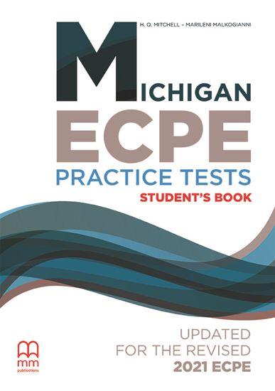 Εικόνα από MICHIGAN ECPE Practice Tests Student's Book (Updated for the revised 2021 ECPE)