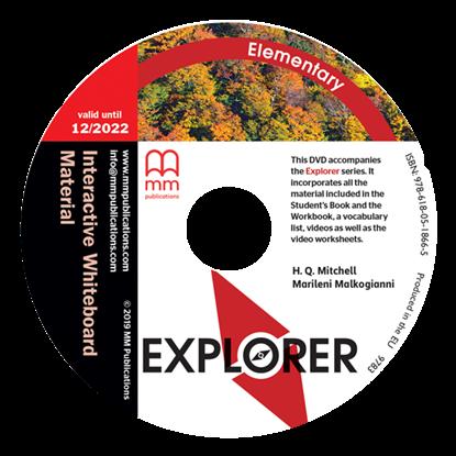 Εικόνα της DVD EXPLORER Elementary Interactive Whiteboard Material