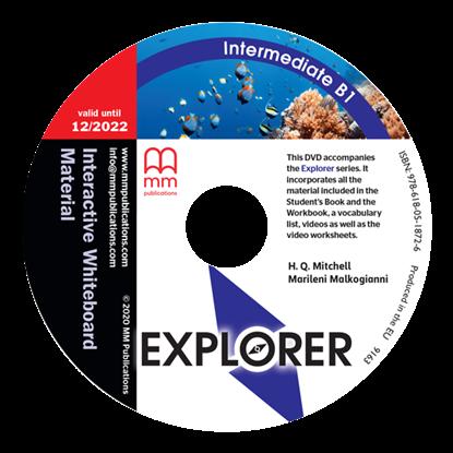 Εικόνα της DVD EXPLORER Intermediate B1 Interactive Whiteboard Material