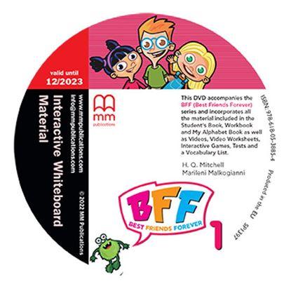 Εικόνα της BFF 1 Interactive Whiteboard Material DVD